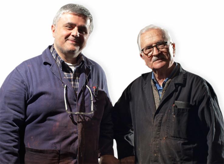 Vocaturi: maestri nell'arte del ferro battuto