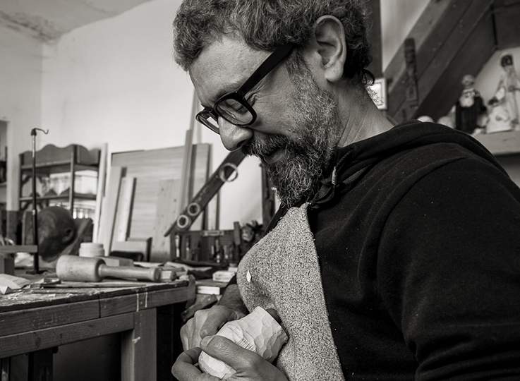 Gianluca Di Matteo: burattinaio artigiano