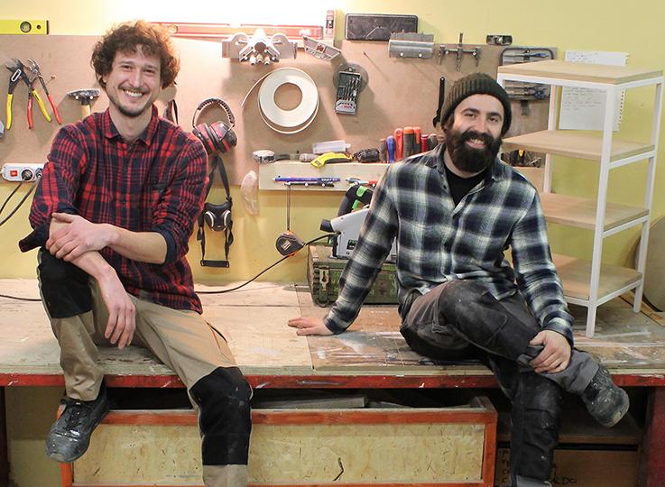 Dual Lab: artigiani del legno eferro