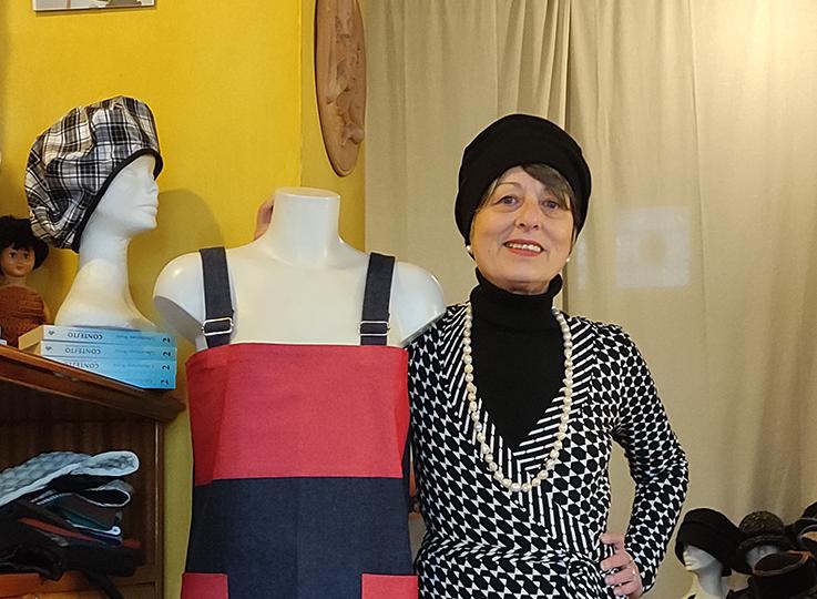 Atelier Nina Tauro: l'artigiana dei cappelli