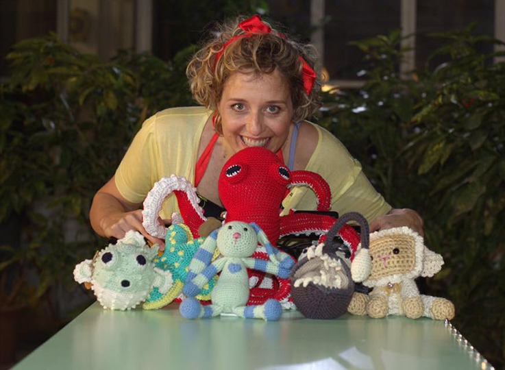 "babywool.it, Francesca l'artigiana del crochet, ""Handmade withLove"""