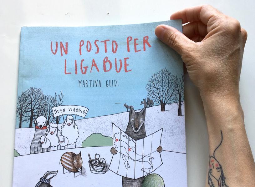 Piccola mostra di illustrazioni di Martina Guidi